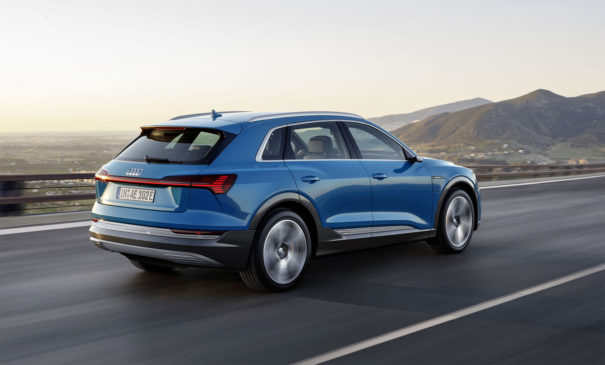Audi e-tron ładowarka