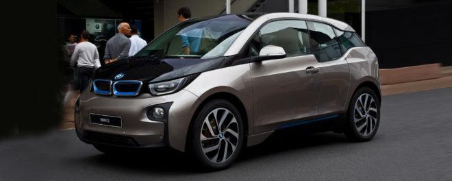 BMW i3 ładowarka